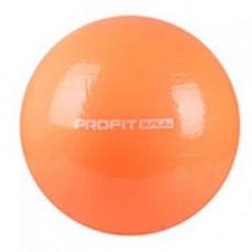 Фитбол мяч для фитнеса Profit 85 см усиленный 0384 Оранжевый (007313)