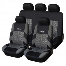 Чехлы на автомобильные кресла Supretto полный набор (4907)