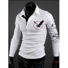 Свитшот, кофта белого цвета с принтом на спине M-XXL