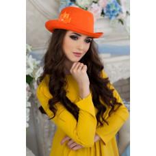 Шляпа-федора «Элисса» (оранжевый) Braxton