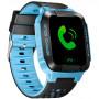 Детские смарт часы с трекером Smart Y21 Розовые + фонарик