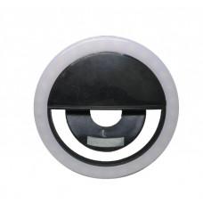 Вспышка-подсветка Trend-mix селфи-кольцо для телефона Черный (tdx0000599)