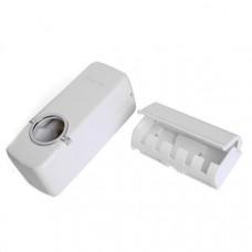 Диспенсер для зубной пасты+держатель зубных щеток (nri-2105)