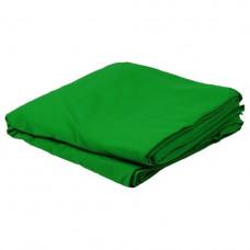 Фон тканевый для фотостудии 1х2.2 м Chromakey Зеленый (uf312)