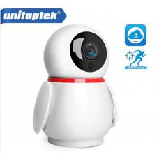 Поворотная WiFi камера Unitoptek 1080P (Auto Tracking)