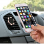 Магнитный держатель в Авто для телефона черный/серебро/золото