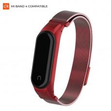 Ремешок Armorstandart Milanese Magnetic Band для Xiaomi Mi Band 4 Red (ARM55102)