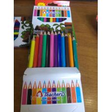 Карандаши цветные 12 цветов
