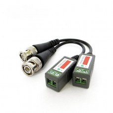 Приемопередатчик видео балун MHZ Video balun CCVT камер Черный (003707)