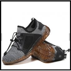 Кроссовки мужские защитные со стальной вставкой серый