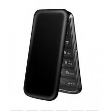 Оригинальныймобильный телефон Флип Elder H-mobile Black с экраном на 2,4 дюйма с большой клавиатурой.