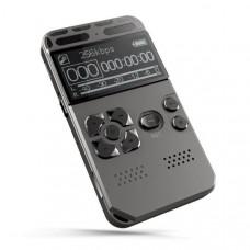 Диктофон цифровой с активацией голосом Lyker V35 Mp3, VOX, 30 часов записи 16 ГБ