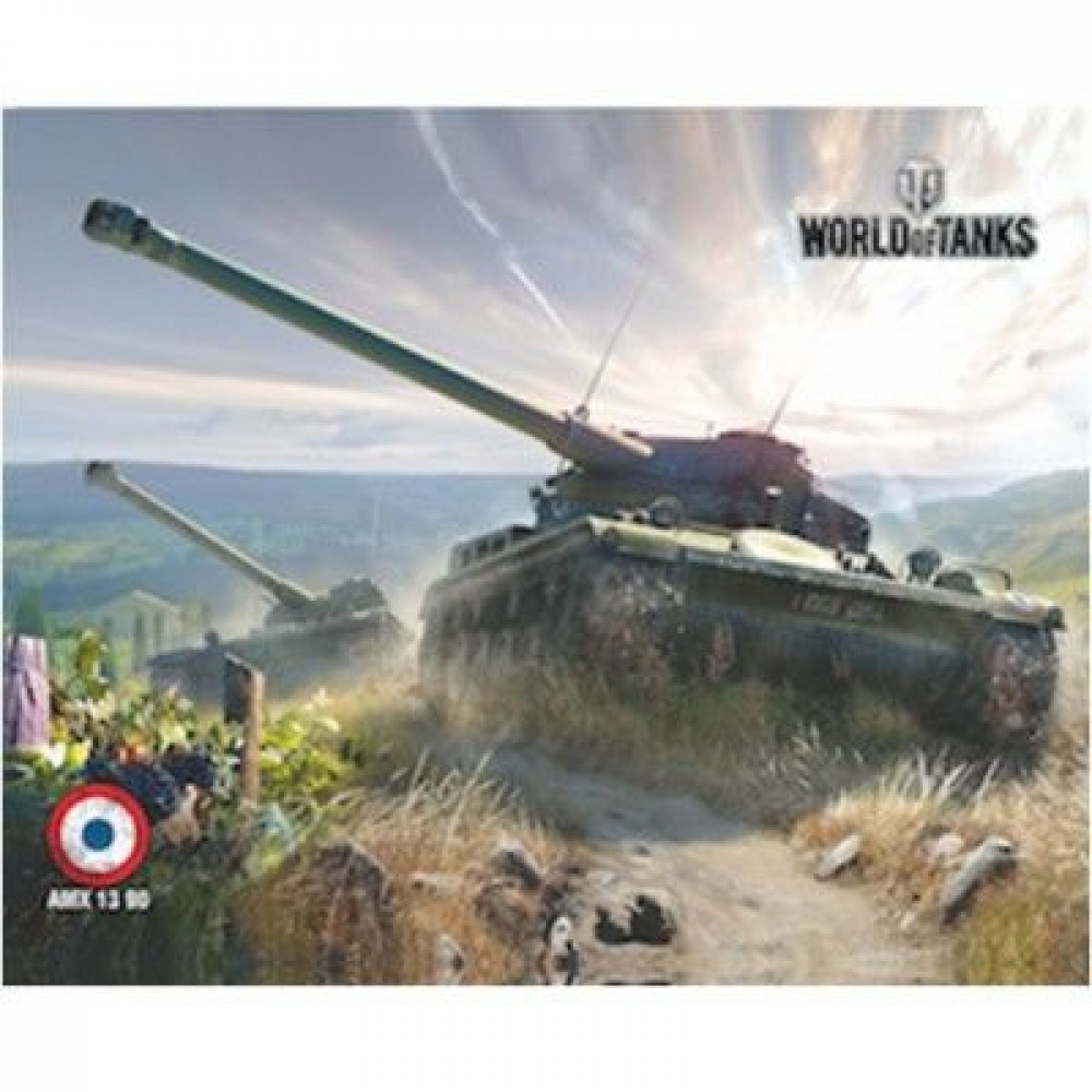 Коврик для мыши - World of Tanks AMX 1390 PAD107 ( 250 Х 200 )