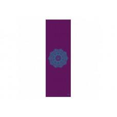 Коврик для йоги Bodhi Leela мандала 183 x 60 x 0.4 см Фиолетовый (000000265)