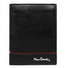 Кожаный кошелек Pierre Cardin 326-TILAK15 красная линия