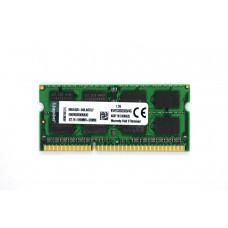 Оперативная память Kingston SODIMM DDR3-1333 4096MB PC3-10600 (KVR1333D3S9/4G)