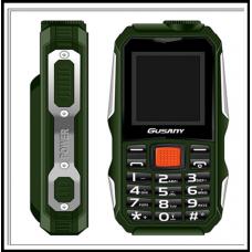 Защищенный Мобильный телефон  Guslny H700 зелёный  Аккумулятор 2800mA! Водоустойчив, удароустойчивый