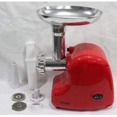 Электрическая бытовая  мясорубка  Wimpex WX- 3076 (2000 Вт), электромясорубка с насадками кеббе и  для колбасок