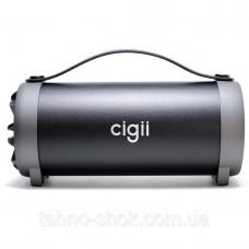 Портативная колонка с FM-радио Cigii S11F (25*12 см)Портативный Bluetooth-динамик АКУСТИКА FM MP3 AUX USB