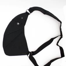 Сумка-мессенджер через плечо 2Life Crossbody 3 Темно-серый (n-411)