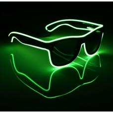 Очки светодиодные солнцезащитные El Neon неоновые ray Green (901830094)