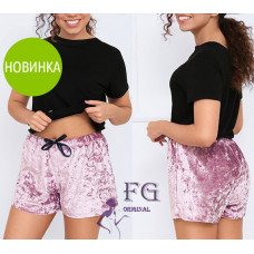 """Велюровые шорты короткие """"Trixi"""" размер 42-44, 46-48"""