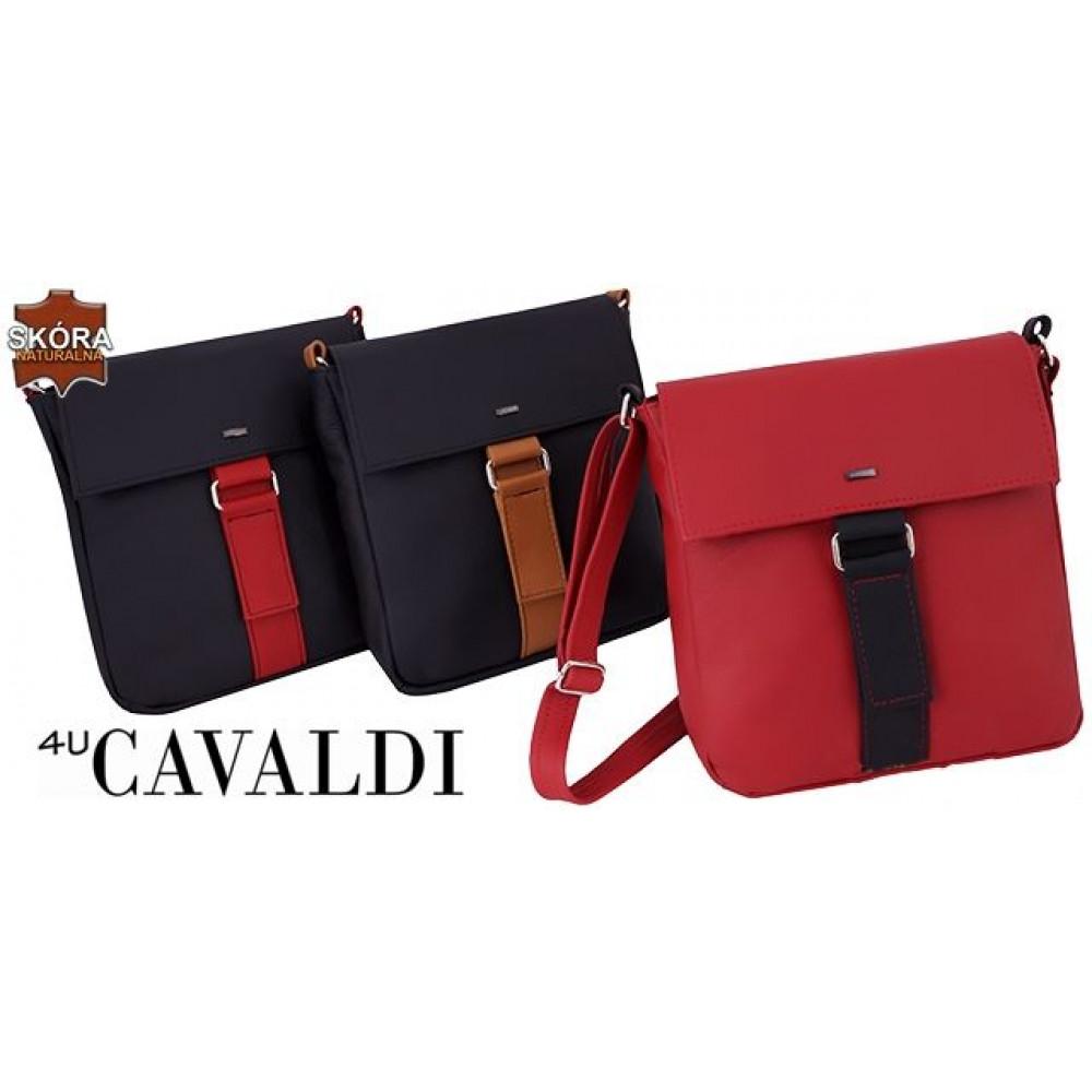 Сумка женская бренд  CAVALDI натуральная кожа СЕРАЯ