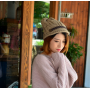 Зимняя женская теплая шапка (бежевая)