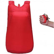 Рюкзак складывающийся Красный (pk01-r)