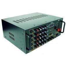 Усилитель звука с караоке микшерный пульт UKC AV-747BT 2637 (010065)