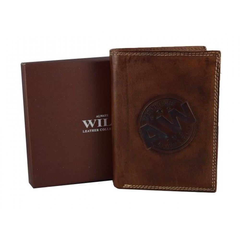 Потрясающий кошелек Always Wild  (В коричневом цвете)