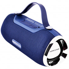 Портативная Bluetooth колонка Hopestar H40 с влагозащитой Синяя (jv-50)