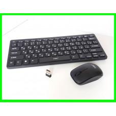 Компактная Беспроводная Клавиатура+Мышь (03)