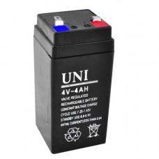 Аккумулятор UNI 4V/4AH