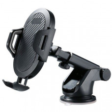 Автодержатель для телефона Greenport  XK-01 Black/Silver (143067-1)