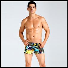 Плавки мужские купальные, трусы-боксеры для бассейна, пляжакод MS006  РАСПРОДАЖА!!!