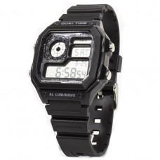 Часы наручные 1299 SKMEI черные.