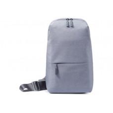 Городской рюкзак  Xiaomi Mi City Sling Bag, темно-серый, свтело -серый. Оригинал