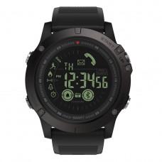 Спортивные умные часы  Zeblaze VIBE 3 черные до 32 месяцев Пыле и водонепроницаемость 5 атмосфер