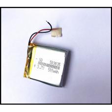 Аккумулятор 503035P 500мАч размер 5,0 мм- 30 мм -35 мм    смарт часов и другой носимой електроники
