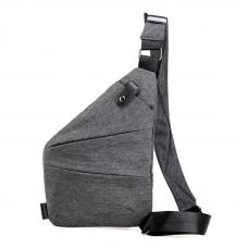 Мужская сумка через плечо 2Life Cross Body Grey (n-25)