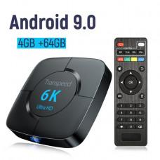 Смарт ТВ приставка Transpeed 6K 4/64Gb