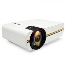 Проектор мультимедийный с динамиком Led Projector Lejiada YG400 Белый (006944)