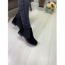 Ботинки женские натуральная замша, размеры 36-41