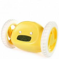 Убегающий будильник на колесиках HLV Alarm Clocky Run Yellow (111662)
