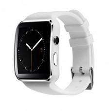 Часы Smart Watch Phone X6 белые на Сим карту + Камера