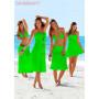 Платье-парео красное для пляжного отдыха Тренд 2017
