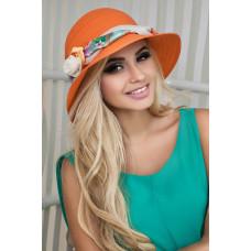 Шляпа «Марсель роза» (оранжевый) Braxton