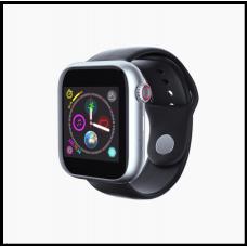 Часы-телефон LEMFO Z6 с Камерой смарт часы чёрные с серебром
