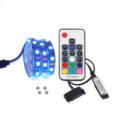 Подсветка для корпуса Coolo LED RGB 100 см Multicolor (AJ_led01pc)
